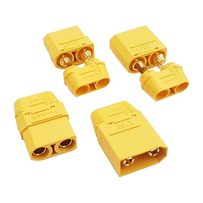 goldplug XT90 set male - female